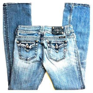 Miss Me straight leg jeans size 28